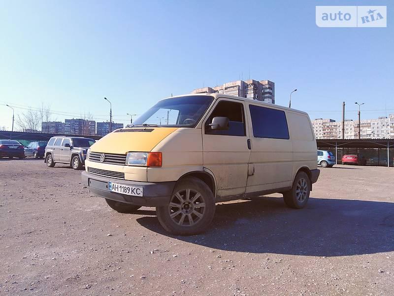 Volkswagen T4 (Transporter) груз-пасс. 1995 в Мариуполе