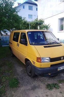 Минивэн Volkswagen T4 (Transporter) груз-пасс. 1998 в Моршине