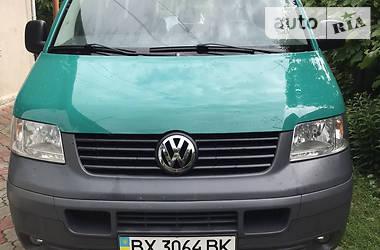 Легковой фургон (до 1,5 т) Volkswagen T5 (Transporter) груз-пасс. 2006 в Хмельницком