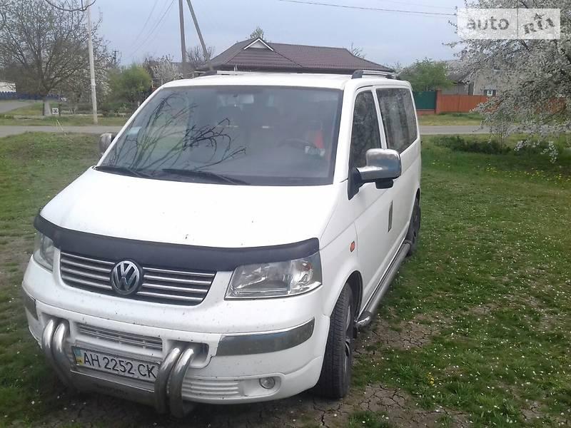 Volkswagen T5 (Transporter) пасс. 2004 в Донецке