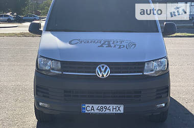 Легковой фургон (до 1,5 т) Volkswagen T6 (Transporter) груз 2016 в Черкассах