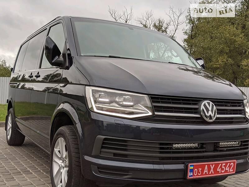 Volkswagen T6 (Transporter) груз LED Bixenon Webasto