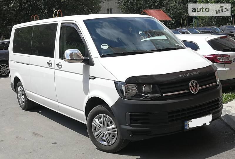 Мінівен Volkswagen T6 (Transporter) пасс. 2016 в Тернополі