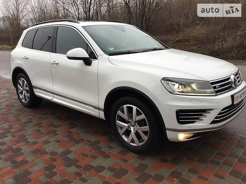 Volkswagen Touareg 2015 в Киеве