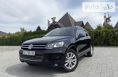 Позашляховик / Кросовер Volkswagen Touareg 2014 в Львові