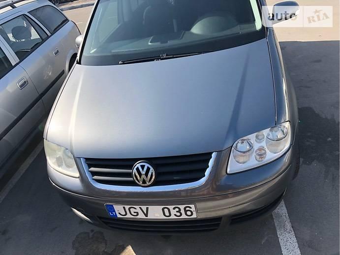 Volkswagen Touran 2006 в Софиевской Борщаговке
