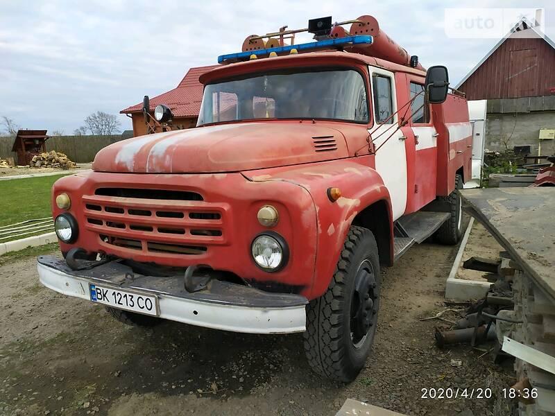 Пожежна машина ЗИЛ 130 1982 в Сарнах