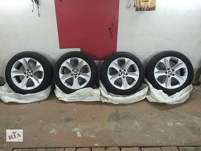 купить бу 255.50R19 107V Goodyear ULTRA Grip wragler диски с шинами для хэтчбека BMW X6 зима в Киеве