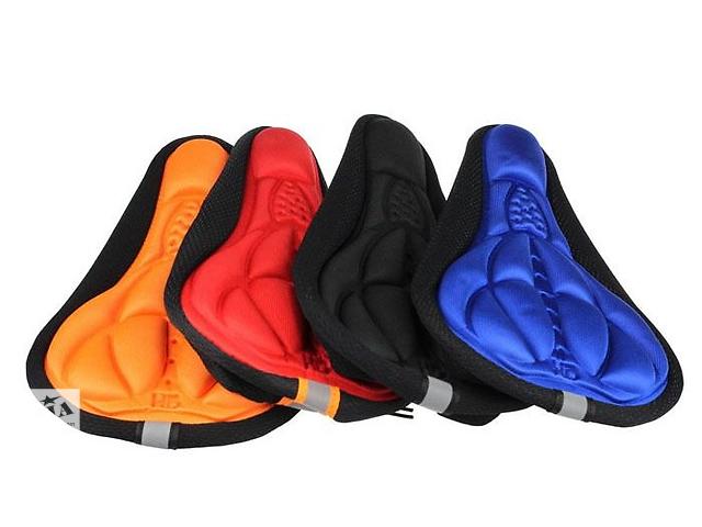 3D Чехол подушка на велосипедное седло, новое в наличии- объявление о продаже  в Ивано-Франковске