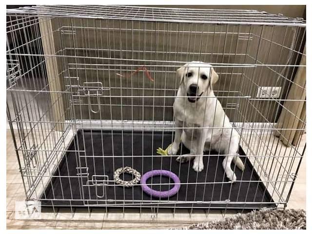 купить бу Переноска клетка вольер для собак кошек птиц 116х77х86h см в Киеве