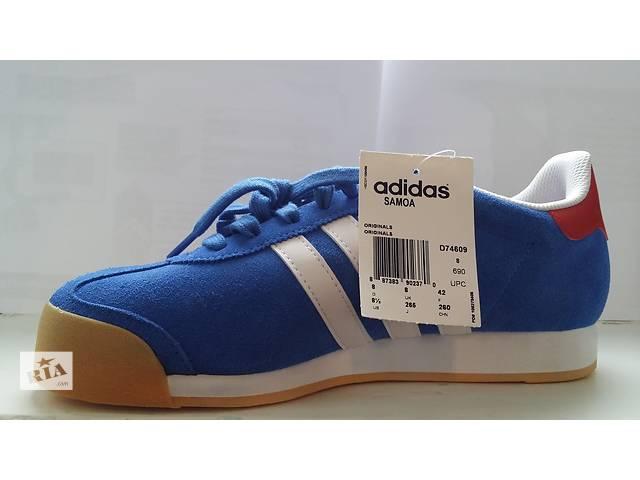бу Adidas Samoa Blue/White Athletic в Шевченкове (Харьковской обл.)