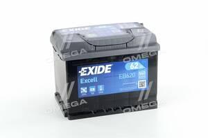 Аккумулятор   62Ah-12v Exide EXCELL(242х175х190),R,EN540 !КАТ. -10%
