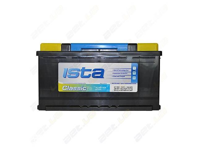 продам Аккумулятор автомобильный Ista Classic 90Ah R+ 760A (EN) бу в Одессе