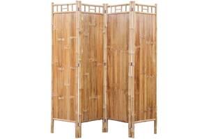 4-панельний бамбуковий екран Артикул: 242488