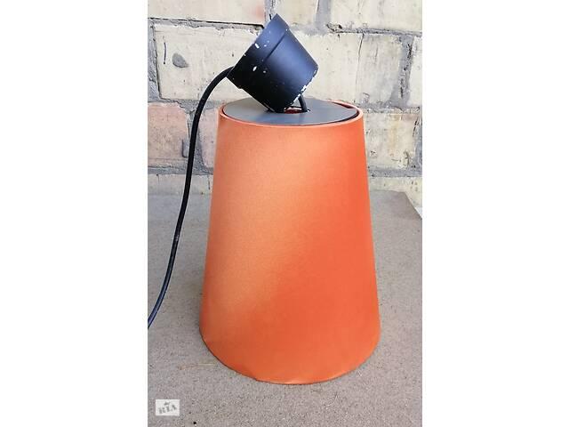 Абажур (светильник) цвет оранжевый- объявление о продаже  в Киеве