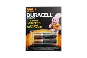 Батарейка Duracell LR03 (ААА), 2 штуки 5007412