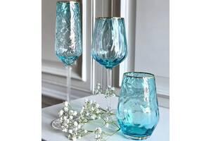 Бокал для вина OLens Голубая волна ML-03550 мл