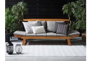Деревьев& # 039; пьяный садовый диван 165/210 см, с регулируемыми подлокотниками PORTICI