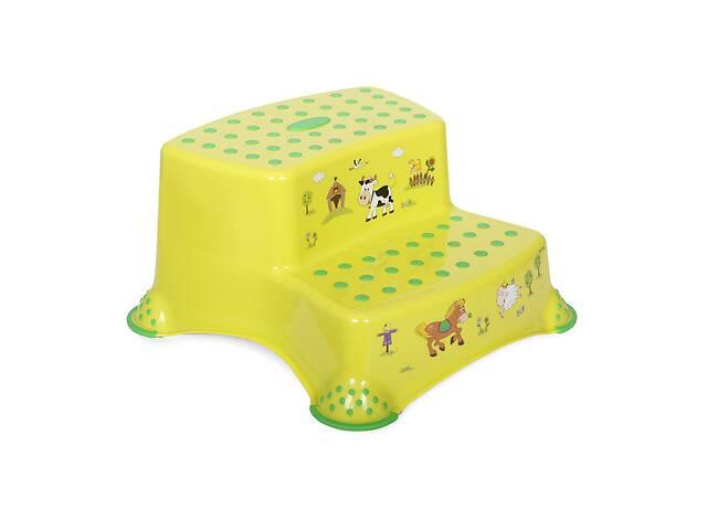 продам Детская двойная ступенька для ванной Lorelli Салатовый бу в Одессе