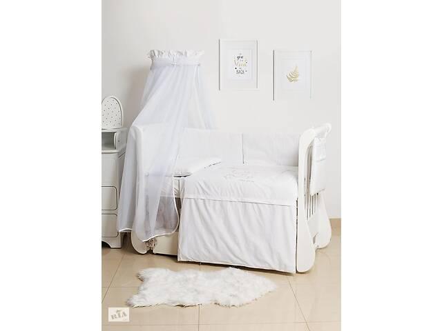 бу Детская постель с бортиками в кроватку 8 элементов с балдахином Twins Dolce Loving bear D-010 в Киеве