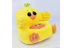 Дитяче м'яке крісло-іграшка