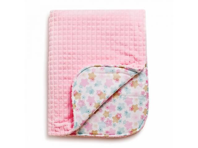 Дитячий плед бавовняний гіпоалергенний для новонародженого& nbsp; Twins Trip& nbsp; Серденька 104x80 см, рожевий- объявление о продаже  в Києві