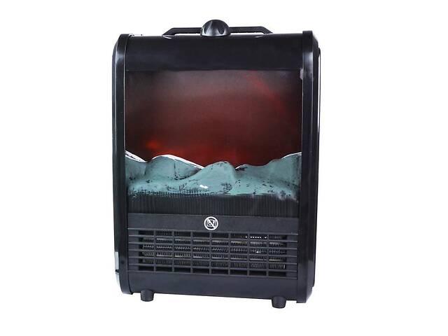 бу Электрокамин с эффектом живого огня Supretto Теплый дом Черный (5369) в Одессе