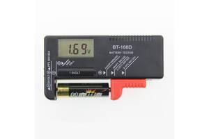 Электронный тестер батареек и аккумуляторов Bt-168d