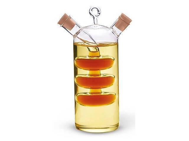 продам Емкость Fissman для масла 350мл и уксуса 50 мл 2 в 1 стеклянная (FN-OV-7523_psg) бу в Киеве