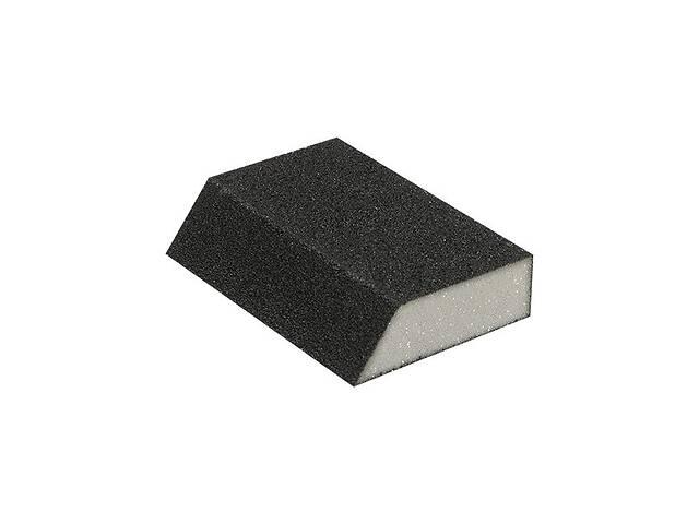 Губка для шлифования трапеция 110*75*54*25 мм, оксид алюминия К120 INTERTOOL HT-0812