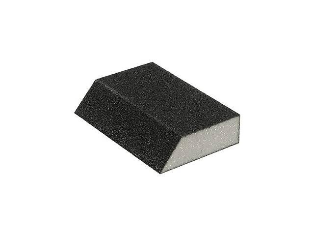 Губка для шлифования трапеция 110*75*54*25 мм, оксид алюминия К60 INTERTOOL HT-0806