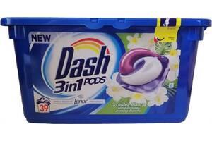 Капсули для прання Dash 3 in 1 Orchidea Bianca, 39 шт (Швейцарія)