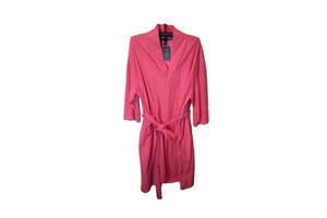 Халат махровый женский розовый размер 3XL/4XL супер ботал