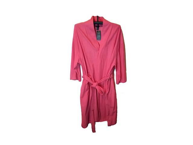 продам Халат махровый женский розовый размер 3XL/4XL супер ботал бу в Киеве