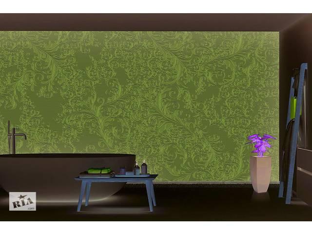 продам Хохлома красивые 3Д обои под покраску народный промысел в классическом стиле 465 см х 280 см бу в Киеве