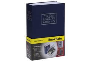 Книга, книжка сейф на ключе, металл, английский словарь 265х200х65мм