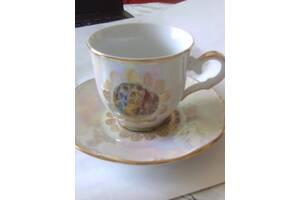 Кофейная чашка с блюдцем& quot; Мадонна& quot;