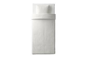 Комплект постільної білизни IKEA NATTJASMIN 150х200 см Білий (003.371.77)