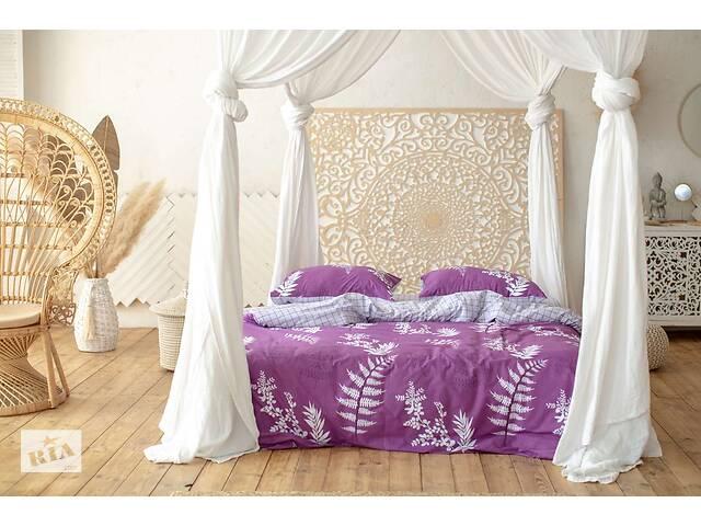 Комплект постільної білизни Prestige Silver Японський захід фіолетовий двоспальний SKL29-250681- объявление о продаже  в Одесі