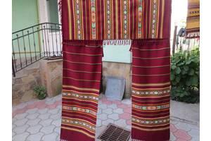 Комплект шерстяных штор