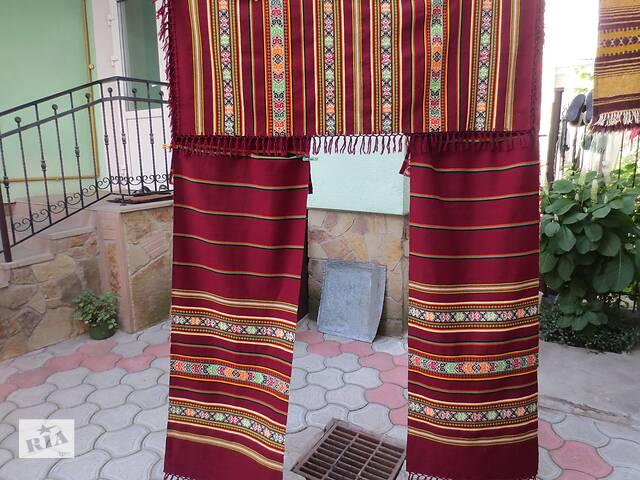 купить бу Комплект шерстяных штор в Тернополе