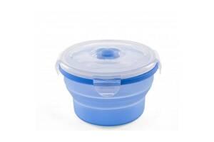 Контейнер для хранения продуктов Nuvita трансформер 6м+ 540мл синий (NV4468Blue)