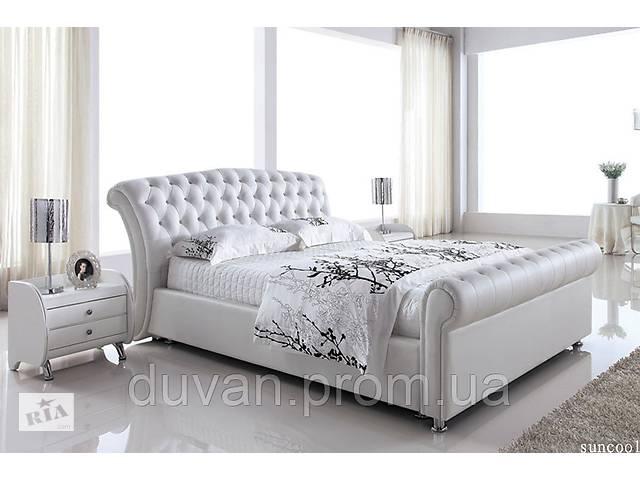Кожаная кровать с подьемным механизмом- объявление о продаже  в Львове