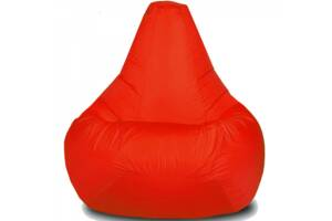 Кресло-груша детская Красная