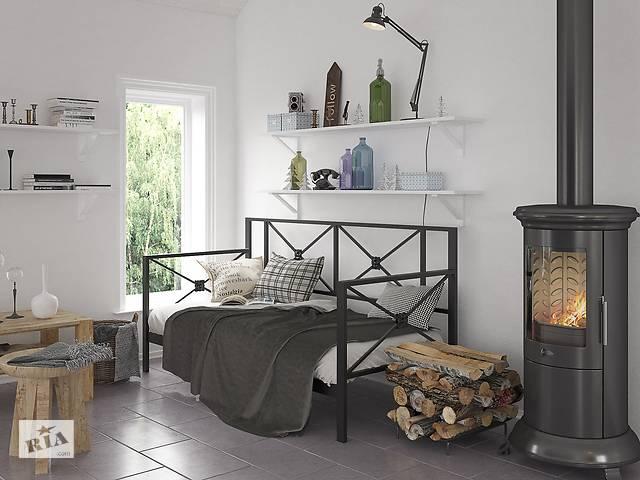 купить бу Кровать-диван Tenero Лофт Тарс 80 см х 200 см Черный бархат в Киеве
