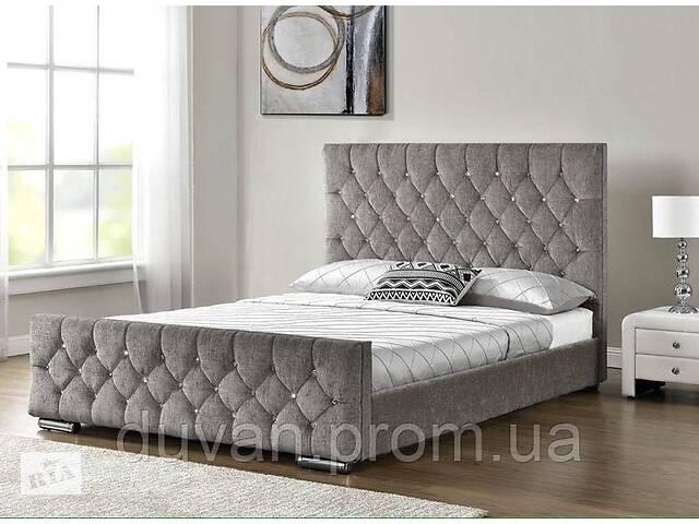 купить бу Кровать с кожаным изголовьем в стиле loft в Львове