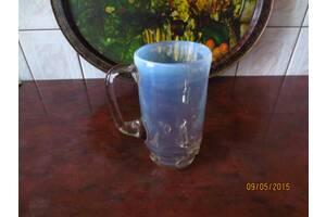 Кружки (бокалы) из цветного стекла (советские)