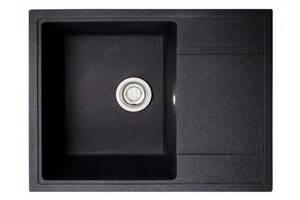 Кухонна мийка гранітна Policomposite K02 Чорний