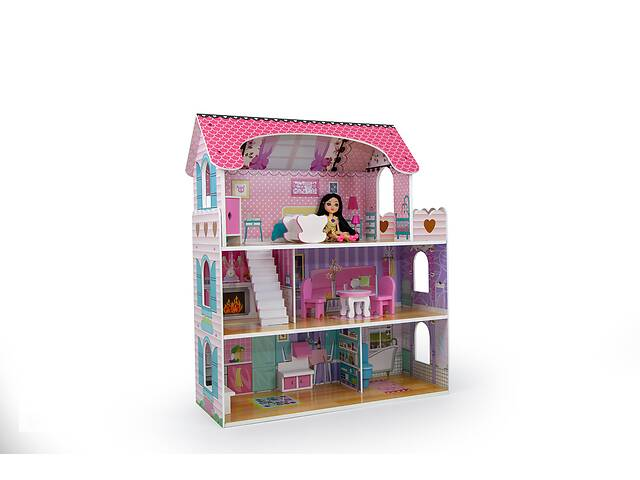 продам Кукольный домик игровой AVKO Вилла Флоренция + 2 куклы бу в Львове