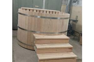Купіль з натуральної деревини